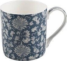 Becher, Tasse Owen Jones LOTUS SCROLL für 230ml blau weiß Creative Tops (12,95 EUR / Stück)