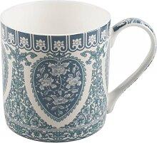Becher, Tasse Owen Jones PEONY für 230ml blau weiß Porzellan Creative Tops (12,95 EUR / Stück)