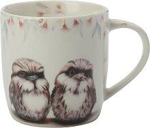 Becher Tasse Sally Howell Owls Eulen 375ml in GB