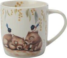 Becher Tasse Sally Howell Wombat 375ml in GB