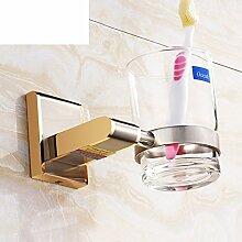 Becherhalter/Becher-set/ Zahnbürste/ Alle Kupfer Zahnbürste Tasse