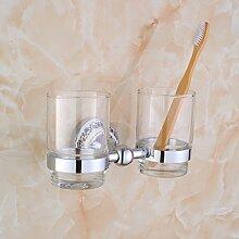Becherhalter/Pinsel Tasse/Glas Doppelbecherhalter/Bad-Accessoires-B
