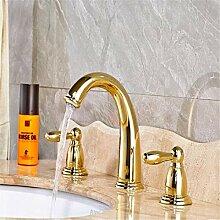 Becken Wasserhahn Badarmaturen Dual Halter