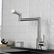 Becken Wasserhahn Küchenarmatur 720 Grad Swivel