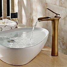 Becken Wasserhahn Messing Badezimmer Wasserfall