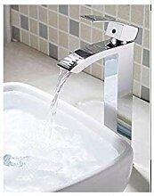 Becken Wasserhahn Messing Chrom Hoch Becken