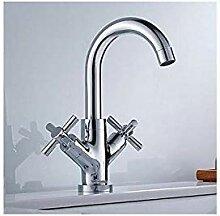 Becken Wasserhahn Messing Küchenarmatur Chrom