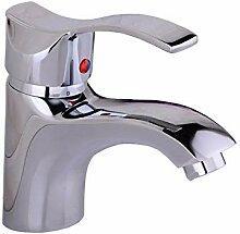 Becken Wasserhahn Waschbecken heiß und Kalt