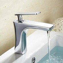 Becken Wasserhahn Wasserfall Wasserhahn Mixer