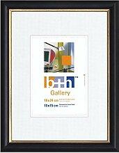Becker & Hach Bilderrahmen 18 x 24 blau Gold
