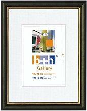 Becker & Hach Bilderrahmen 18 x 24 grün Gold