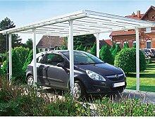 Beckmann Aluminium Carport 311 x 496 x 218 cm Weiß