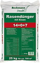 Beckmann Profi Rasendünger mit Eisen 14+0+7+(2)
