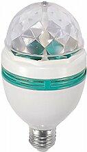 Beco LED-Party-Stimmungslampe E27 3 x 1 W RGB