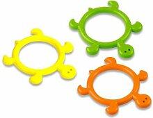 BECO Tauchring Schildi Kinder Wasserspielzeug Tauchspielzeug Fitness grün 190g