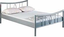 Bed Box Metall Bettrahmen Bettgestell Luisa 1002