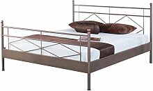Bed Box Metall Bettrahmen Bettgestell Maria 1022