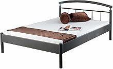 Bed Box Metall Bettrahmen Bettgestell Nina 1007