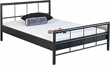 Bed Box Metall Bettrahmen Bettgestell Ruby 1008