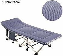 Bed -Chairs Klappbarer Liegestuhl Garten