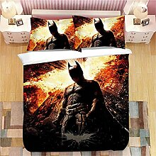 bed linings Bettwäsche-Set 3D Batman Druck