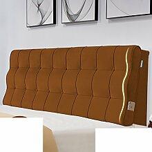 Bed soft cushioning Zurück Doppelbett kissen Europäisch Stoffe Tatami bett kissen-E 200x60x10cm(79x24x4inch)