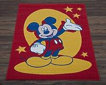 Beddingdirect Disney Kinder Teppich, Mickey Mouse