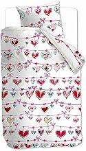 beddinghouse Kinder Bettwäsche Garland pink,