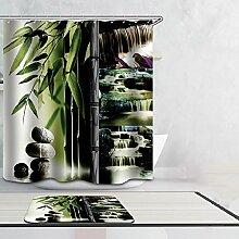 Beddingleer 180 cmx 180 cm SPA Bambus Design Quick