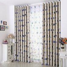 Beddingleer Blickdicht Gardinen Vorhang
