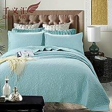 Beddingleer Tagesdecke Baumwolle Bettüberwurf