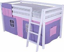 Beddybows wlx1Hochbett, Holz, Einzelbettgröße,