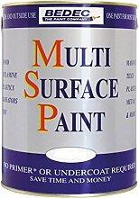 Bedec Wandfarbe, leichter Glanzeffekt, weiß,