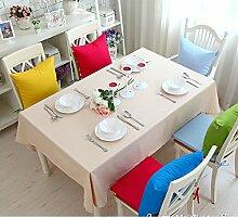 Bedeckt farbe essen kleidung feld garten kaffee tabelle baumwolle kleidung saubere farbe tisch-B 90x90cm(35x35inch)