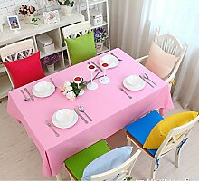 Bedeckt farbe essen kleidung feld garten kaffee tabelle baumwolle kleidung saubere farbe tisch-C 140x220cm(55x87inch)