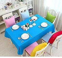 Bedeckt farbe essen kleidung feld garten kaffee tabelle baumwolle kleidung saubere farbe tisch-G 90x90cm(35x35inch)