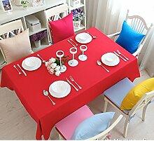 Bedeckt farbe essen kleidung feld garten kaffee tabelle baumwolle kleidung saubere farbe tisch-E 130*180cm(51x71inch)