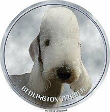 Bedlington Terrier Aufkleber 25 cm