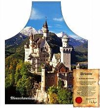 bedruckte Fun Grill Schürze - Motiv: