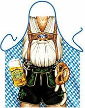 bedruckte Fun Grill Schürze - Motiv: Oktoberfest