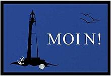 Bedruckte Fußmatte - 'MOIN!' - in 3