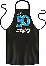 bedruckte Geburtstag Grillschürze 50 Jahre