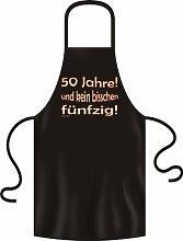 bedruckte Geburtstag Grillschürze 50 Jahre Jahre Geschenk Grill Schürze Kochschürze Latzschürze Partyschürze Küche