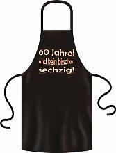 bedruckte Geburtstag Grillschürze 60 Jahre Jahre Geschenk Grill Schürze Kochschürze Latzschürze Partyschürze Küche