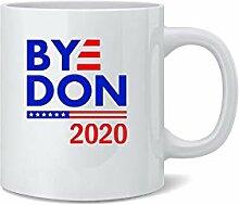 Bedruckte Tasse mit amerikanischer Flagge, 2020,