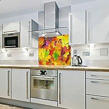 Bedruckter Glas-Spritzschutz für die Küche,