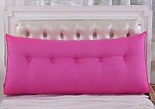 Bedside Dreieck Kissen Kissen Kissen Kissen Kissen Sofa Rückenlehne Soft Sleeve Bett Lendenwirbel Rücken Paddel ( Farbe : A2 , größe : 70x50cm )