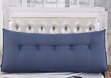 Bedside Dreieck Kissen Kissen Kissen Kissen Kissen Sofa Rückenlehne Soft Sleeve Bett Lendenwirbel Rücken Paddel ( Farbe : A3 , größe : 1 m )