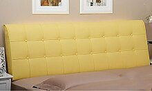 Bedside Kissen Bedside Soft Bag Doppelbett Leder Nachttisch Kissen Kissen Große Rückenlehne Bett Abdeckung ( Farbe : A2 , größe : 1.2m )