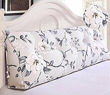 Bedside Kissen Kissen Kissen Bett zurück weichen Tasche dreieckig große Rücken Sofa Schlafzimmer zurück Kissen ( Farbe : B3 , größe : 120*50*20cm )